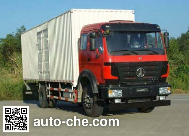 Фургон (автофургон) Beiben North Benz ND5160XXYZ00