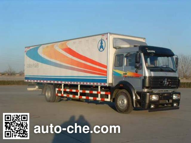 Фургон (автофургон) Beiben North Benz ND5160XXYZ03