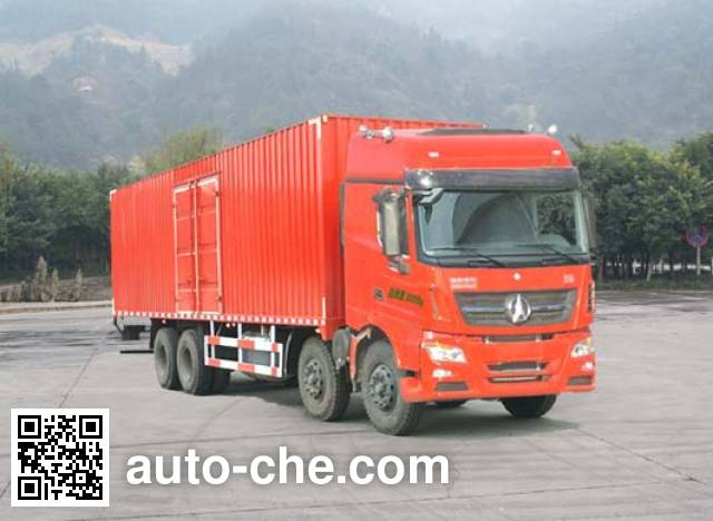 Фургон (автофургон) Beiben North Benz ND5240XXYZ01