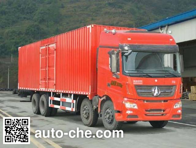 Beiben North Benz фургон (автофургон) ND5310XXYZ05