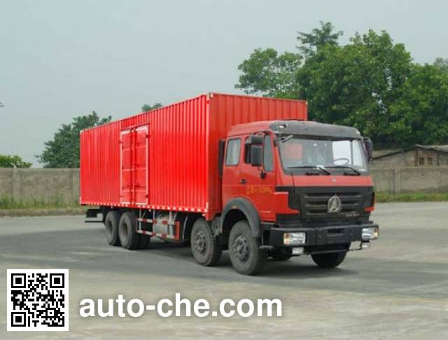 Фургон (автофургон) Beiben North Benz ND5310XXYZ06