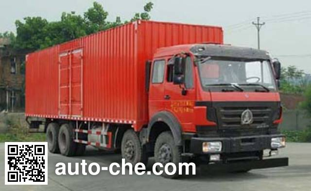 Фургон (автофургон) Beiben North Benz ND5310XXYZ07