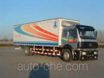Beiben North Benz box van truck ND5160XXY02