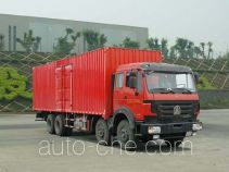 Фургон (автофургон) Beiben North Benz ND5240XXYZ02