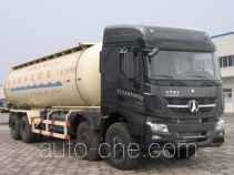 Low-density bulk powder transport tank truck